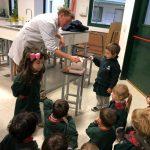 ¡La Sala de 3 visitó el laboratorio!