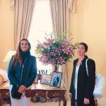 Ex alumnas en Mision UK 2019