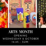 OCTUBRE: MES DE LAS ARTES – EDICIÓN 2019