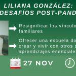 Liliana González: Invitada Especial en víspera al cierre de un año especial